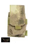 Flyye Nylon Single M14 Magazine Pouch(A-TACS)