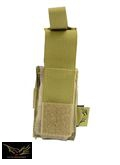 Flyye Cordura Single deck .45 Pistol Mag Pouch (A-TACS)
