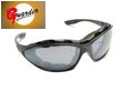 Guarder UV400 Protection C4 Airsoft Sport Sunglasses-Black Frame