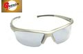 Guarder UV400Protection C6 Airsoft Sport Sunglasses-Sliver Frame