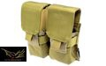 Flyye Cordura Double M14 Magazine Pouch (Coyote Brown)