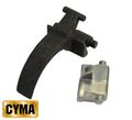 CYMA Steel trigger set for AK - Black
