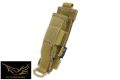 FLYYE Cordura Baton Holder (Coyote Brown)