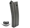 G&D 100 Rounds M16 Magazine For DTW - Black