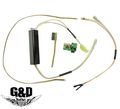 G&D Control Unit w/ ECU Full Set For DTW AR15 - Black