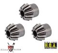 King Arms Steel Motor Gear (3 Pcs Bulk Pack)