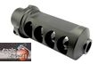 Apple Airsoft M107A1 Type Muzzle Brake For M82/M82 CQB (Black)