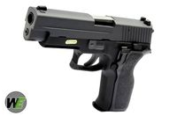WE Full Metal Tactical F226 E2 Rail Gas Blow Back Pistol(Black)