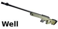 WELL L96AWS Bolt Action Sniper Rifle(Olive Drab)
