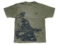 US ACU Soldier Tactical Special efficacy Photo T-Shirt - OD