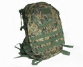 US Marine MOLLE Assault Tactical Middle Backpack - DWC