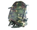 US Marine MOLLE Assault Tactical Middle Backpack - Woodland Camo