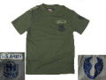 US AIRBORNE Army Short Shirt - OD 83601