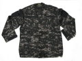 US Navy Working Uniform (NWU) BDU Set (Black)