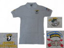 US Army Polo Shirt - Gray