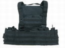 Special Force Full Load Bearing MOLLE Combat Vest - Black