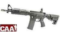 CAA Airsoft Division Metal Body M4 CQBR AEG (Black)