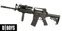 DBOY Metal 5181 M4A1 RIS AEG (BY051, Black)