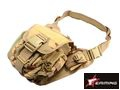 EAIMING Combat Large Utility Shoulder Bag Pouch (Desert Camo)
