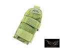 FLYYE Cordura MOLLE Strobe Pouch (Olive Drab)