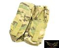 FLYYE Cordura Dual AK Mag Pouch For MOLLE System (Multicam)
