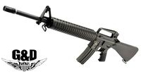 G&D Full Metal DTW M16A2 AEG Rifle (M110, Black)