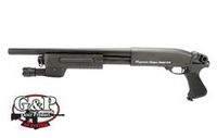 G&P Metal M870 Tactical Shotgun (Medium, Black)