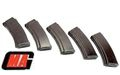 MAG 100rds AEG Magazine (5pcs) for  AK74 -Dark Brown