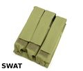 SWAT Nylon MP7 Molle Triple MagPouch (OD)
