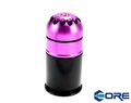 CORE Steel 40mm 72rds Gas Grenade Cartridge (Purple)