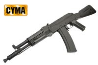 CYMA AK105 Assault Rifle AEG with fixed stock (CM.031B,Black)