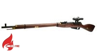Red Fire Real Wood Mosin Nagant Air-cocking Rifle w/ scope