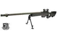 S&T ST338 Bolt Action Sniper Rifle Spring Version (Black)