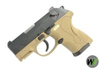 WE Metal Slide Bulldog PX4 Subcompact GBB Pistol (Tan)