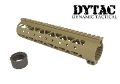 DYTAC Metal Invader Lite Rail System 9 inch for M4 (Dark Earth)