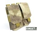 SWAT Nylon M4 Molle Dual 5.56 Mag Pouch (ATACS )