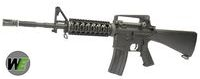 WE Metal SR-16 AEG Assault Rifle (Black)