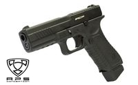 APS金属滑套Act​​ion Combat Pistol (ACP) CO2 GBB手枪(黑色)