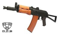 APS Metal Body Real wood hand guard AKS-74U EBB (ASK205)