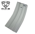 APS 300rd Hi-Cap METAL Magazine for ASR/M16/M4 AEG (Grey)