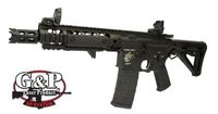 G&P Metal 8 inch M4 War Hammer Assault Rifle AEG (Black)