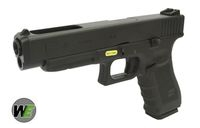 WE Metal Slide G34 GBB Pistol Gen 4 Frame Version (Black)