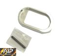AIP Magwell Ver. 2013 (Silver) (Type 2) for Hi-capa 5.1/4.3
