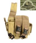 FISHERMEN Triple All Pistol Mag Belt Pouches Bag(Digital Camo )