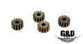 G&D Metal Planetary Gear (Sintering) 4 pcs set for DTW M4 Series