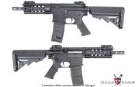 King Arms Lincenced Metal SIG 516 PDW AEG (Black)