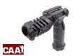 CAA Airsoft Division FGA Vertical Grip with Light Mount (Black)