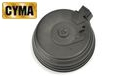CYMA 2500rds Sound & Wired Control Drum Magazine for AK AEG (BK)
