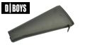 DBOYS Fixed Rear Stock for M16 / M4 AEG Series (Black)