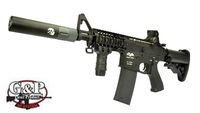 G&P Metal M4 Rapid Fire II Assault Rifle AEG (Black)